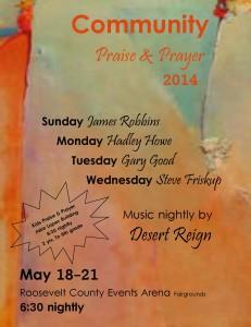 Community Praise and Prayer